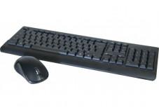 Pack clavier & souris slim sans fil 2.4 ghz noir