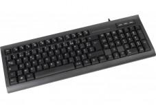 DACOMEX Clavier K460u avec hub USB noir