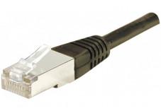 Câble RJ45 CAT6 F/UTP - Noir - (30,0m)