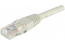 Câble RJ45 CAT 6 U/UTP - Gris - (50,0m)