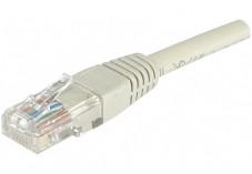 Câble RJ45 CAT 6 U/UTP - Gris - (1,5m)