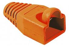 Manchons orange diam 6 mm (sachet de 10 pcs)