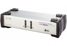 Aten CS1742 KVM 2 Ports VGA/USB Dual Screen + Audio