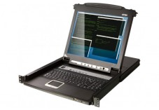 Aten CL5708M console LCD 17' KVM 8 ports VGA/USB-PS2