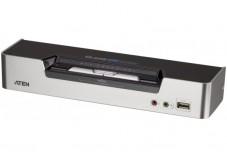 Aten CS1642A switch KVM Double Écran DVI/US+Audio 2 ports
