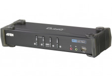 Aten CS1764A KVM DVI / USB + Audio - 4 ports avec cables