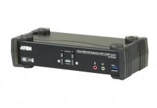 Aten CS1922M switch KVM Double écran DP 1.2 + HDMI 2.0/USB - 2 ports