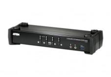 Aten CS1924 switch KVM DisplayPort/USB 3.0/Audio - 4 ports