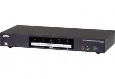 ATEN CS1944DP KVM DisplayPort Dual-View / USB 3.0 - 4 ports