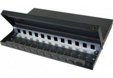 Point de consolidation pour 12 ports RJ45