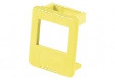 Insert pour panneau RJ lot de 50 pcs-jaune