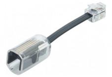 Adaptateur anti-enroulement avec câble de 3 cm