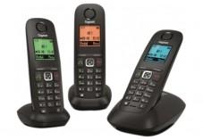 Gigaset A540 téléphone DECT noir - TRIO