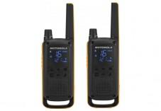 Motorola TLKR T82 EX 2 Talkies Walkies 10 KMS noir