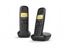 Gigaset A170 DUO Téléphone sans fil - 2 combinés