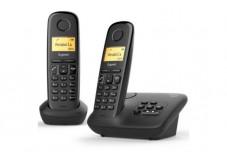 Gigaset A170A DUO Téléphone sans fil avec répondeur - 2 comb