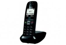 Gigaset AS470 téléphone sans fil DECT noir - base + combiné