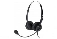 DACOMEX casque téléphone micro Flex antibruit - 2 écouteurs