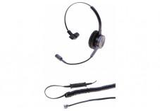 DACOMEX Perle - casque téléphone monaural micro Flex antibruit