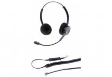DACOMEX Perle - casque téléphone binaural micro Flex antibruit