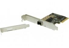 Carte réseau 10 GIGABIT fibre SFP+ PCI-Express 4x