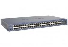 NETGEAR GS748T Switch Niv.2 - 48 ports Gigabit + 4 SFP