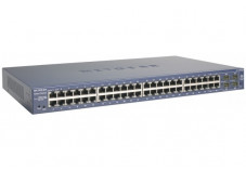 NETGEAR GS748T Switch Niv.2 - 48 ports Gigabit + 4 SFP