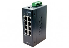 Planet ISW-800T switch indust. 8P 10/100 compact -40/+75°