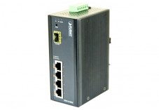 Planet ISW-514PSF smart sw.indust 4 ports poe + 1 sfp 100FX