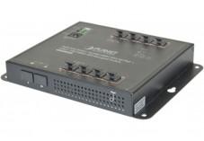 PLANET WGS-4215-8P2S Switch industriel plat 8 ports Gigabit PoE+ & Fibre