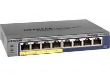 NETGEAR GS108PE Switch Prosafe+  8 Gigabit /4 PoE manageable