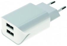 CHARGEUR SECTEUR 2 PORTS USB 2.4 A