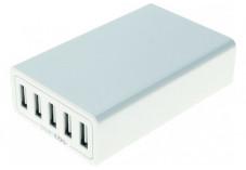 CHARGEUR SECTEUR 5 PORTS USB