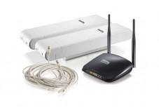 NETIS kit pont WiFi distance inférieure à 500m 5GHz