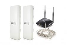 Kit Pont WiFi Distance inférieure à 3Km 5GHz