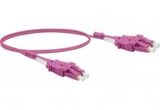 Jarretière optique duplex UHD uniboot OM4 50/125 LC-UPC/LC-UPC erika - 5 m