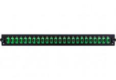 DEXLAN Façade équipée 24 SC APC SM Simplex pour tiroir optique 1U