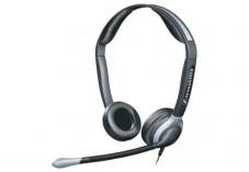 Sennheiser cc 520 micro casque call center 2 ecouteurs