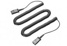 Rallonge 3m pour casque téléphonique Plantronics prise QD M/F