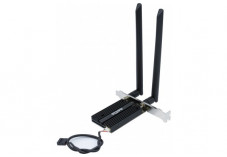 STONET F1 Carte PCIe WiFi 6 AX-3000 Mbps + BlueTooth 5.0
