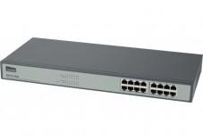 NETIS ST3116G Switch 16 ports Gigabit Fanless rackable