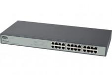 NETIS ST3124G Switch 24 ports Gigabit Fanless rackable