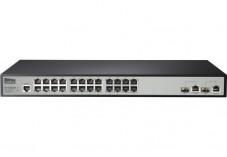 NETIS ST3326M Switch Niv.2 24 ports 10/100 +2 combo Giga/SFP