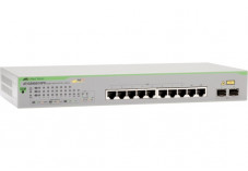 ALLIED AT-GS950/10PS WebSmart Switch 8P Gigabit PoE+ & 2 SFP