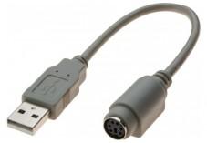 ADAPTATEUR USB 2.0 A M / MDIN6 F GRIS 0,2 M