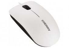 CHERRY Souris MC-1000 USB blanc gris