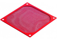 Filtre métallique anti poussière pour ventilateur - 80x80 mm