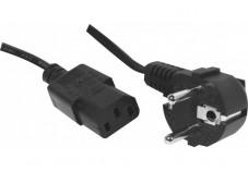 Cordon d'alimentation PC CEE7 / C13 noir - 3,0 m