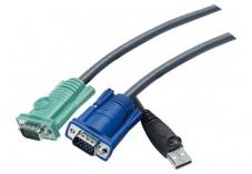 Aten 2L5203U câble Pieuvre KVM VGA/USB - 3,00M