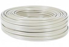 Câble Ethernet CAT5e F/UTP multibrin - Gris - 100m